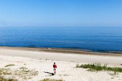 Summer at Baltic sea. Royalty Free Stock Images
