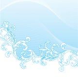 Summer banner. Summer blue banner, vector illustration Royalty Free Stock Photo