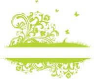 Summer banner. Summer green banner, vector illustration vector illustration