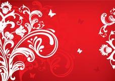 Summer banner. Summer red banner, vector illustration Stock Image