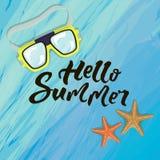 The summer banner vector illustration