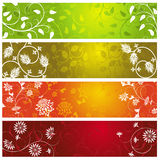 Summer banners Stock Image