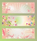 Summer banners Royalty Free Stock Images