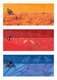 Summer banners series Royalty Free Stock Image