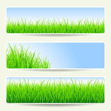 Summer banners Royalty Free Stock Photos