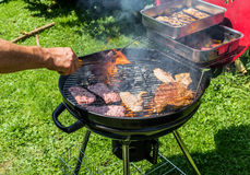Summer barbecue Royalty Free Stock Photography