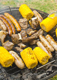 Summer barbecue grill Stock Photography