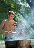 Summer Barbeque Royalty Free Stock Image