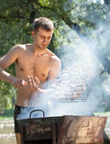Summer Barbeque Royalty Free Stock Images
