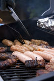 Summer barbeque close up Stock Photo