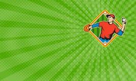 Summer Baseball Training Business card Royalty Free Stock Photos