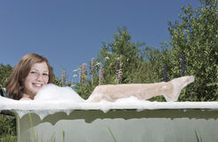 Summer bath Royalty Free Stock Images