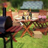 Summer BBQ Party or Picnic Stock Image