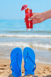 Summer on the beach Royalty Free Stock Photo