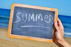 Summer on the beach Royalty Free Stock Photos