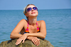 Summer Beach Royalty Free Stock Photography
