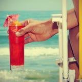 Summer on the beach Stock Image