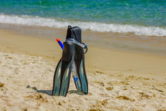 Summer Beach Accessories Royalty Free Stock Images