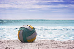 Summer beach background. Royalty Free Stock Images