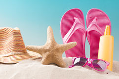 Free Summer Beach Background Stock Image - 67209301