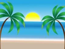 Summer Beach Background Royalty Free Stock Photos