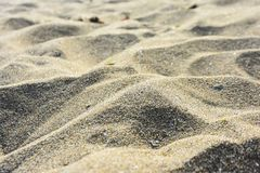 Summer beach background. Sand and sea. Background royalty free stock photography