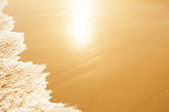 Summer beach background Royalty Free Stock Photography
