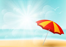 Summer beach background Royalty Free Stock Image