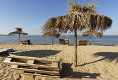 Summer Beach Bulgaria Sozopol Stock Photos