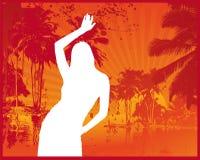 Summer Beach Club. Vector Illustration Stock Photography