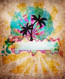 Summer beach design vector illustration
