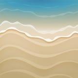 Summer Beach Design Stock Image