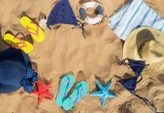 Summer beach fun Stock Photo