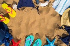 Summer beach fun Stock Photos