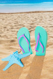 Summer beach fun Royalty Free Stock Images