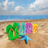 Summer beach fun Royalty Free Stock Photography
