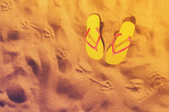 Summer beach fun Royalty Free Stock Photo