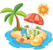 Summer at the beach Stock Photos