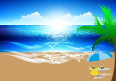 Summer Beach Stock Photography
