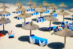 Summer beach Majorca Royalty Free Stock Image