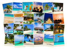 Summer beach maldives images Royalty Free Stock Images