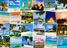 Summer beach maldives images Royalty Free Stock Photography