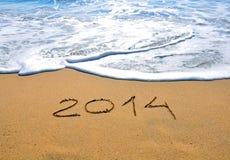 Summer beach 2014. In Malta Stock Images
