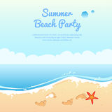 Summer beach party Royalty Free Stock Photography