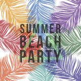 Summer beach party Stock Photography