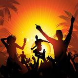 Summer beach party Stock Photo
