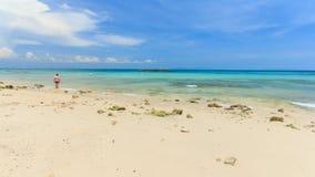 Summer beach in Pattaya city,Thailand Stock Photo