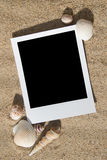 Summer Beach Photo Frames Stock Images