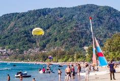 Summer beach Royalty Free Stock Photography