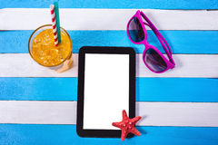Summer Beach Scene Royalty Free Stock Image